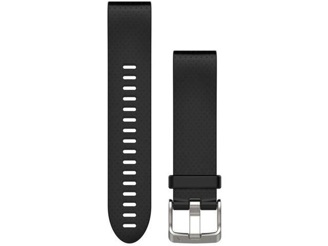 Garmin fenix 5S Silikon Armband QuickFit 20mm black